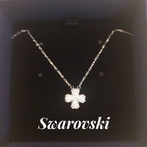 Swarovski 💙 Lucky Four-Leaf Clover Necklace